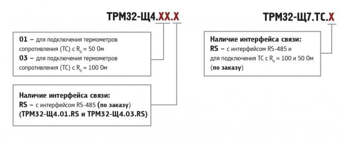 Контроллер для регулирования температуры в системах отопления и ГВС ОВЕН ТРМ32-Щ4. Модификации