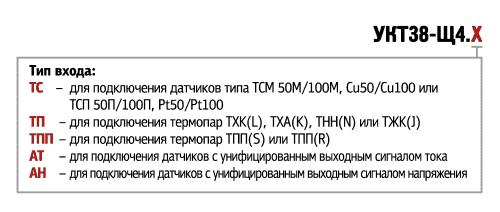 Модификации УКТ38-Щ4