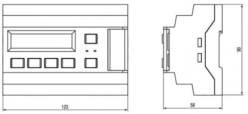 Габаритные размеры КТР-121